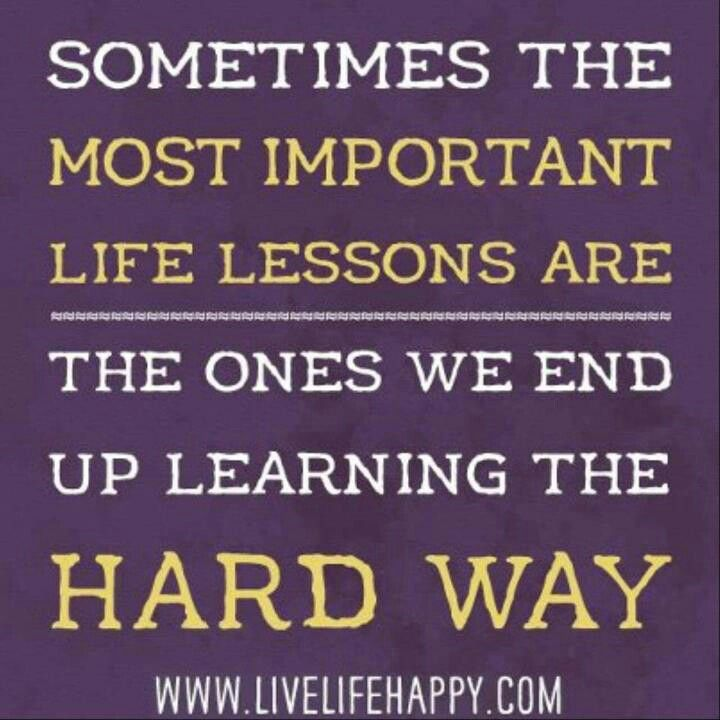 Quotes About Learning Lessons Stunning Pinerika Tarango On Quotes  Pinterest