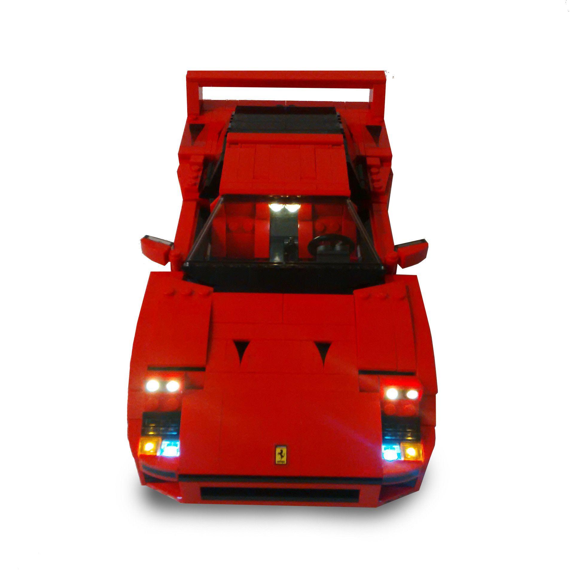 Led Lighting Kit For Lego Ferrari F40 10248 Lego Led