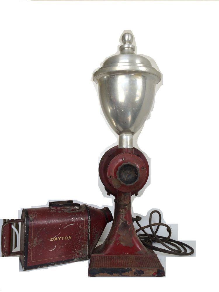vintage dayton ibm comercial electric coffee grinder w. Black Bedroom Furniture Sets. Home Design Ideas
