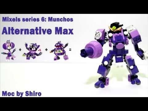 Lego Mixels 6 Munchos Alternative Fast Instructions Lego