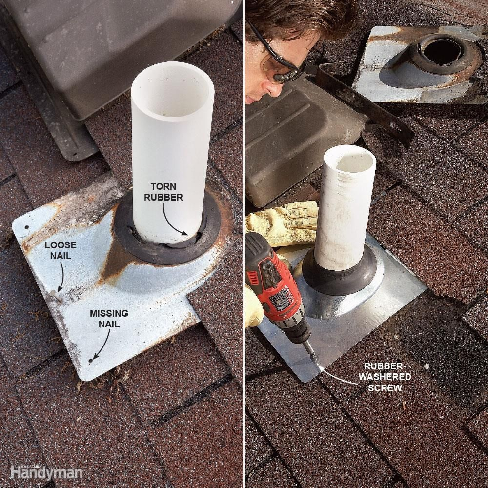 12 Roof Repair Tips Find And Fix A Leaking Roof Plumbing Vent Home Repairs Home Repair
