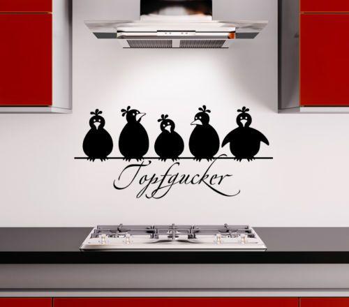Details zu Wandtattoo Wandsticker Wandaufkleber Sprüche Küche - küchen wandtattoo sprüche