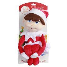 Elf On The Shelf Plush Blue Eyed Boy Cca And B Toys R Us