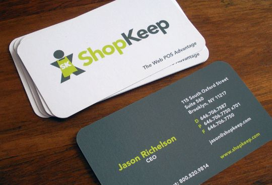 Shopkeep Business Card Design Inspiration Card Nerd Business Card Design Business Card Design Inspiration Business Card Inspiration