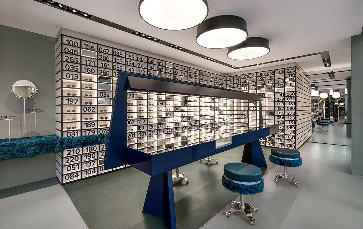 Dimore Studio Designs New Oliver Peoples Miami Store Urdesignmag Miami Design Interor Design Miami Store