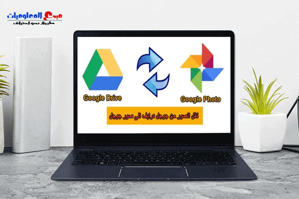 كيفية نقل الصور من جوجل درايف الى صور جوجل و رفع الصورعلى جوجل درايف من الموبايل Google Photos Google Drive Photo