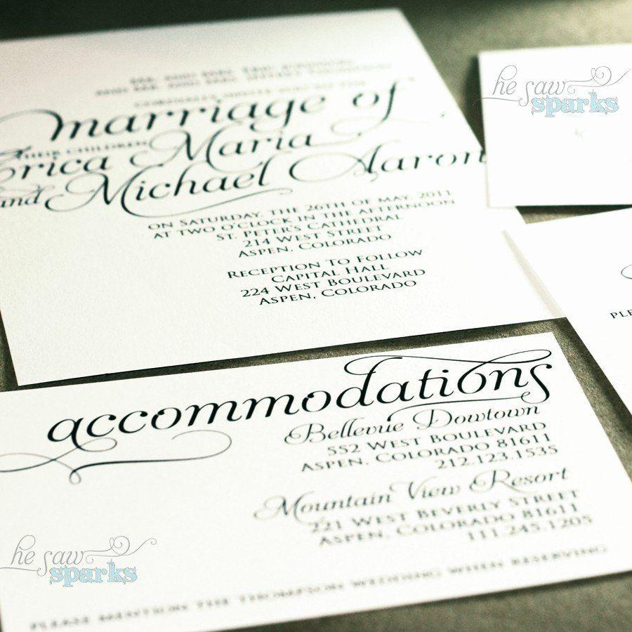 Free Wedding Accommodation Card Template Beautiful Ornate Script Wedding Ac Modations Card Print Accommodations Card Wedding Accommodations Card Templates Free