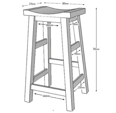 Make Your Own Bar Stools Wood Plans Pinterest Bar