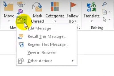How To Edit Received Email In Microsoft Outlook Microsoft