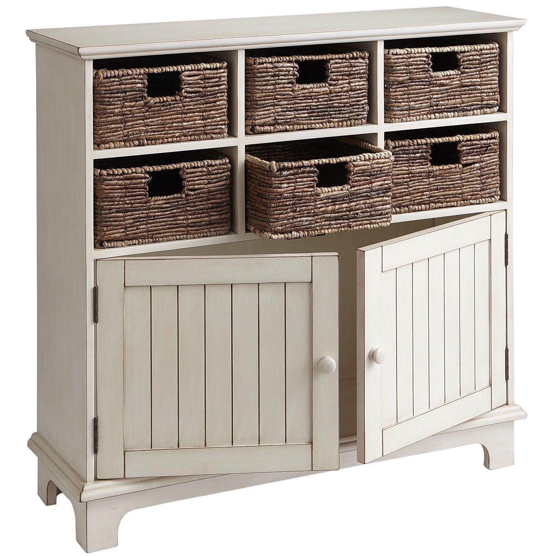 Holtom Antique White Cabinet