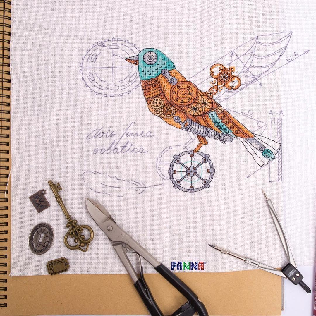 Unopened! PANNA M-1871 Bird mechanical