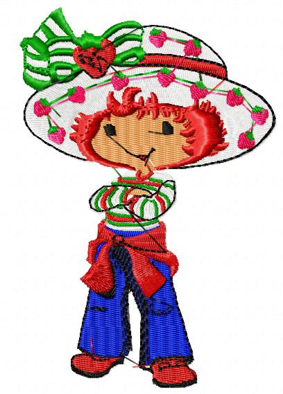 Strawberry shortcake Design   Dreams Embroidery Designs