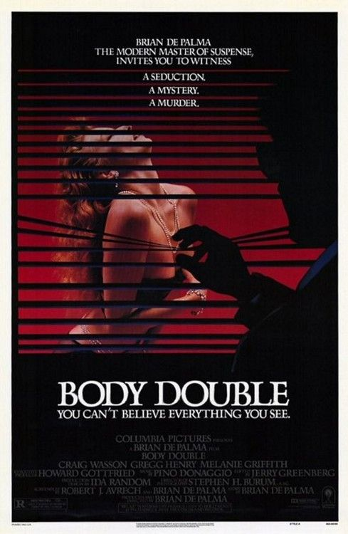 Body Double Usa 1984 Movie Posters Melanie Griffith Brian De Palma
