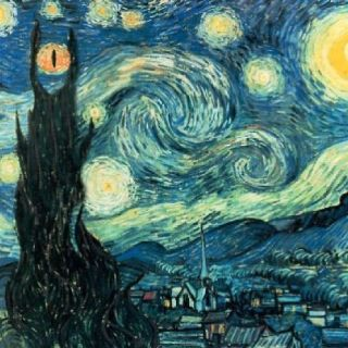 Did Van Gogh like Lord of the Rings, too?