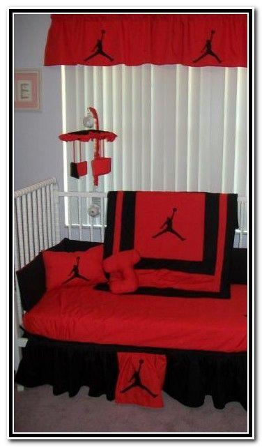 Michael jordan twin bedding 376 641 michael jordan pinterest babies babies - Michael jordan bedroom decor ...