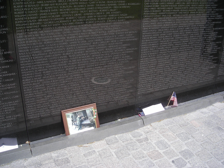 Panels 33e Amp 34e At The Wall Vietnam Memorial Washington