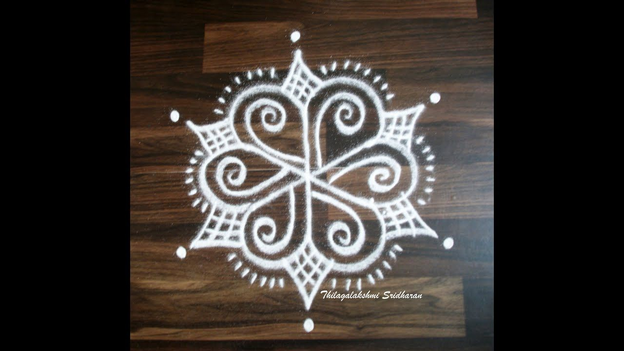 SMALL DOTTED KOLAMS WITH 32 DOTS PART 3 in 2020 Small