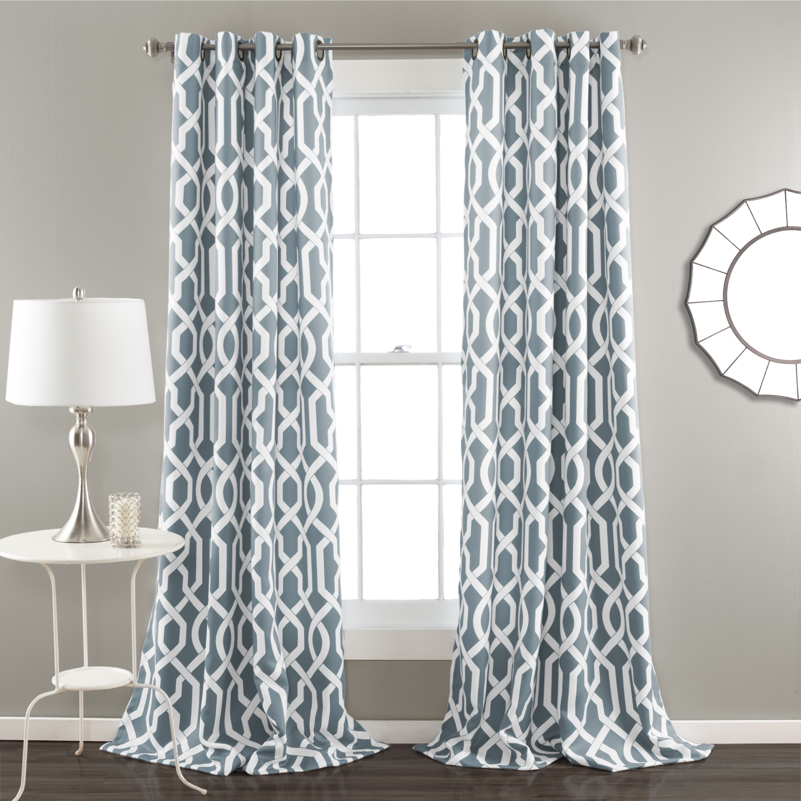 Modern grommet top curtains - Morrocan Style Grommet Top Blackout Panel Pair By I Love Living