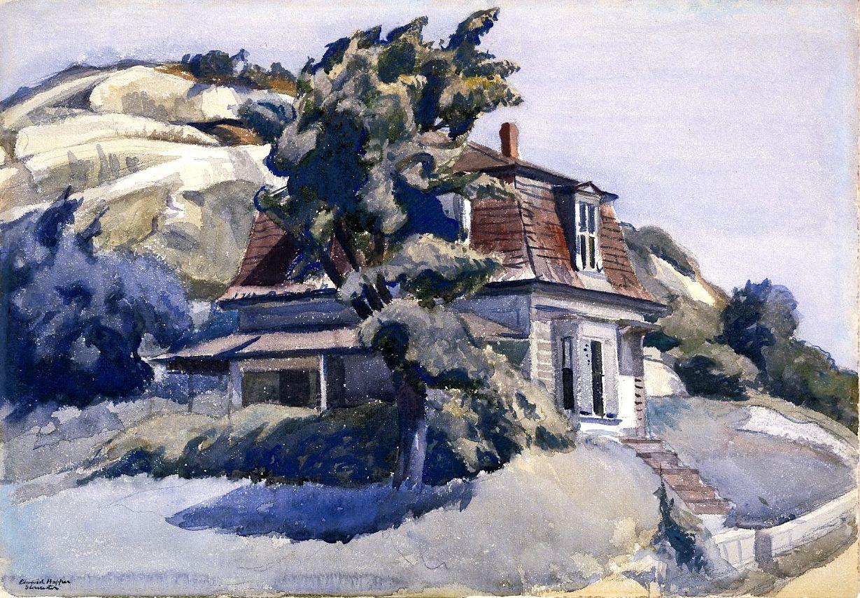 House Riverdale Edward Hopper - 1928