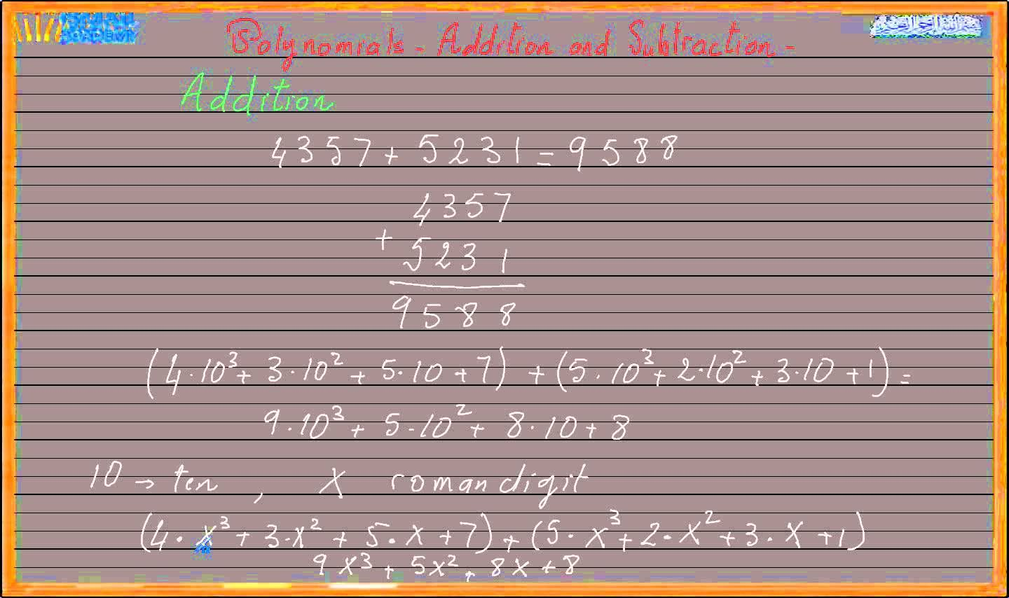 This Video Will Show How To Add And Subtract Polynomial In