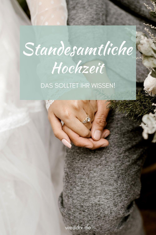 Alles Rund Um Die Standesamtliche Trauung In 2020 Standesamtliche Hochzeit Wunsche Zur Hochzeit Standesamtliche Trauung