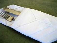 Diamond Envelope Napkin Folding Style - Napkin Fold Tutorial