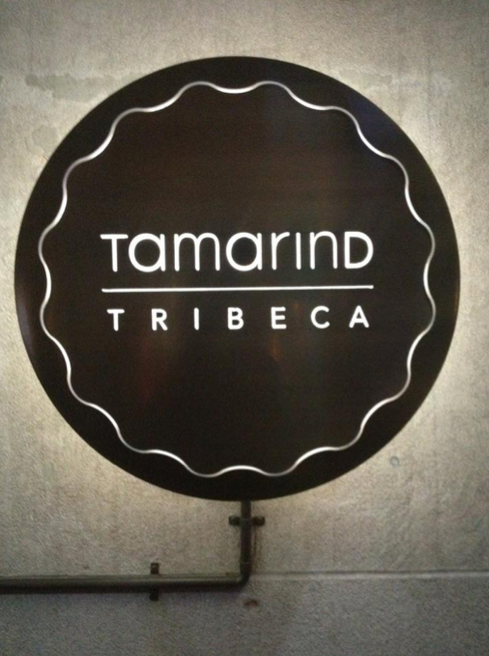 Try the chicken tikka masala at Tamarind TriBeCa: the tandoori chicken dish is slathered in a creamy tomato and fenugreek sauce. #TLTips
