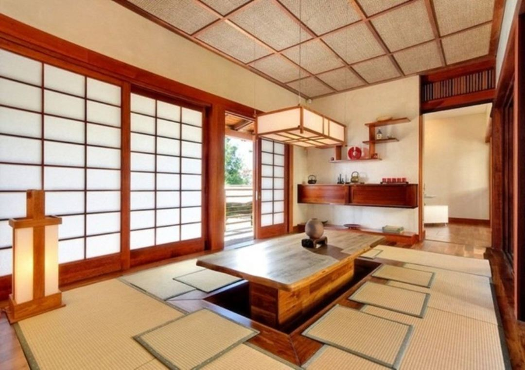 20 Home Interior Design With Traditional Japanese Style Japanese