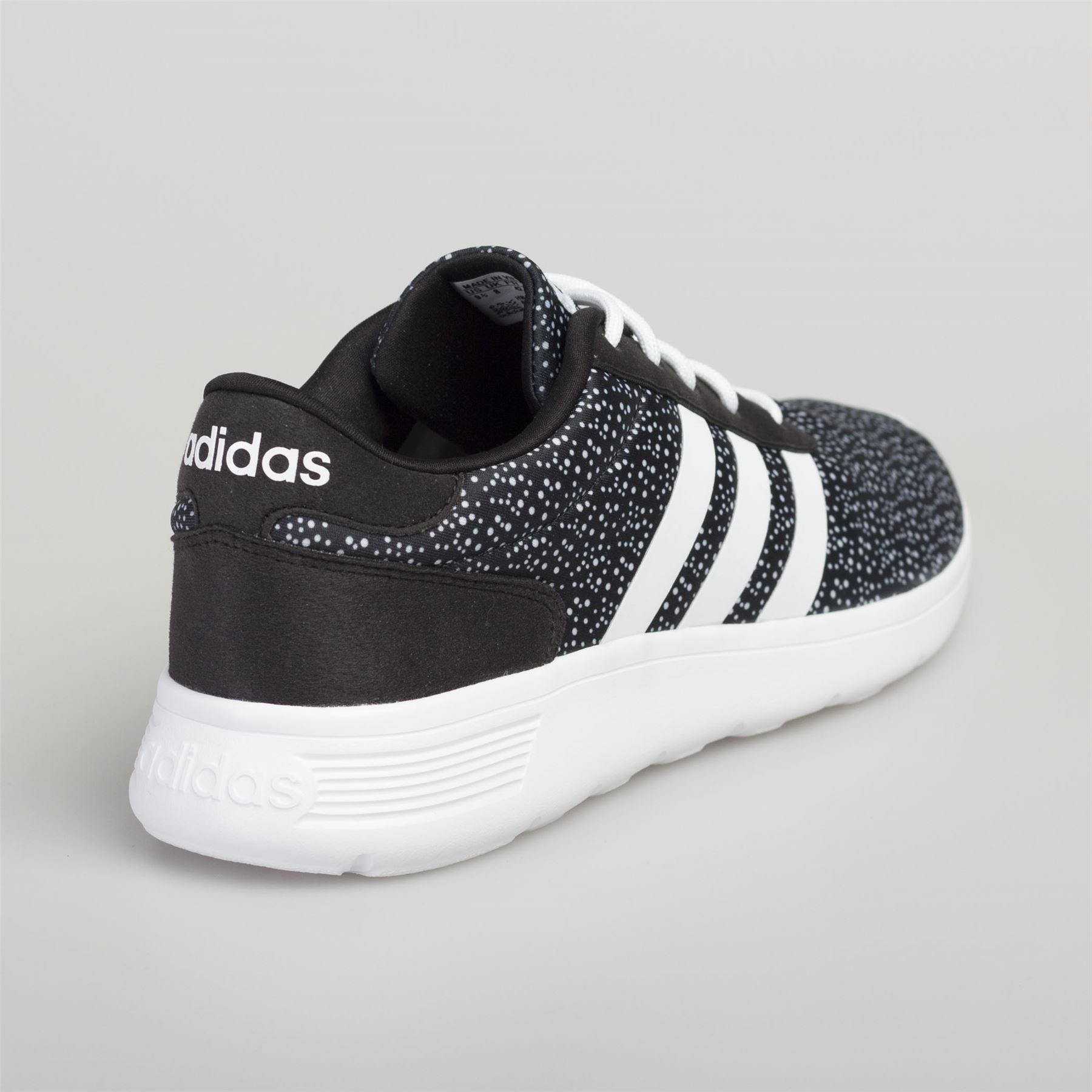 Adidas Men s Women s Leather Trainers Calneo Lite Racer Hoops VL Black White  Women Leather Trainers e738759d8