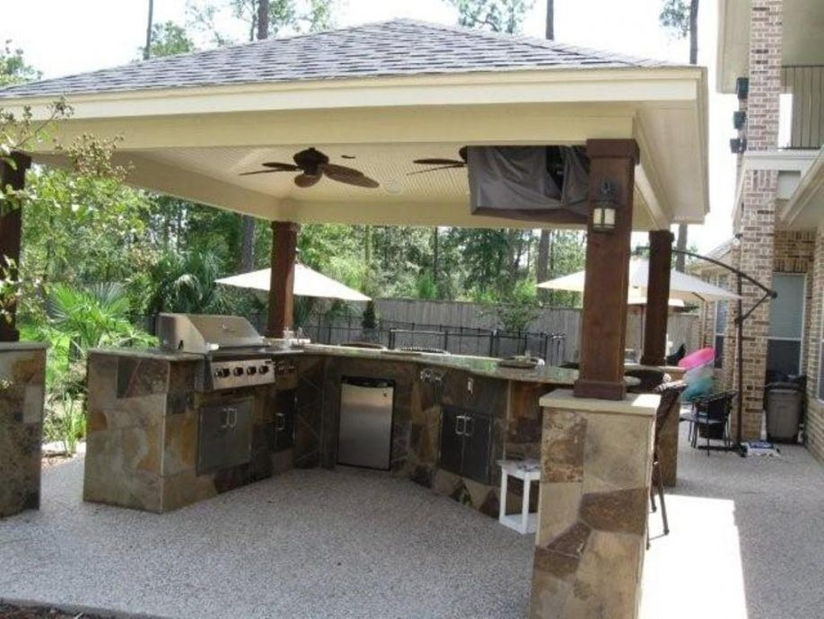 Large Size Of Backyard Kitchen Design Outdoor Roof Bbq Island Plans Drawers Countertops Built Outdoor Kitchen Decor Outdoor Remodel Outdoor Kitchen Design