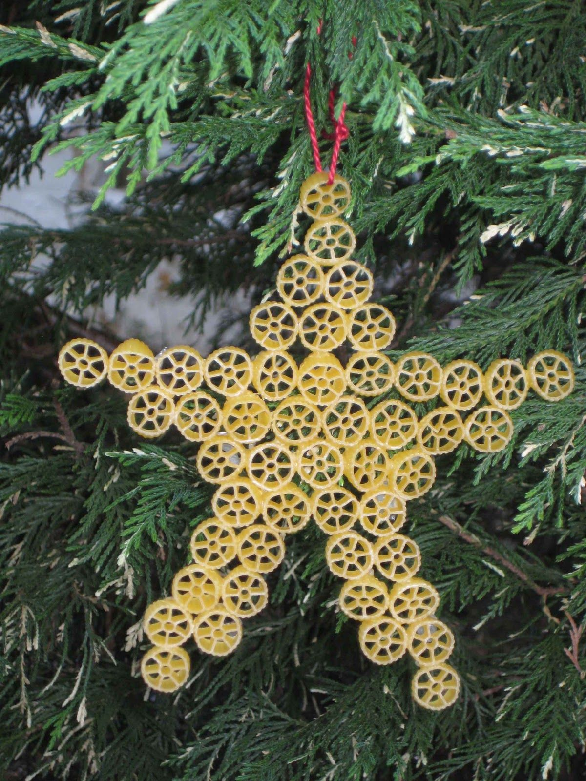 Italian christmas ornaments - Killer Crafts Crafty Killers Crafts With Anastasia Pasta Ornaments Italy Christmas