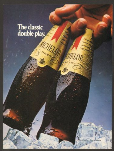 1984 Michelob Beer Vintage Print Ad Bottle I Wish They