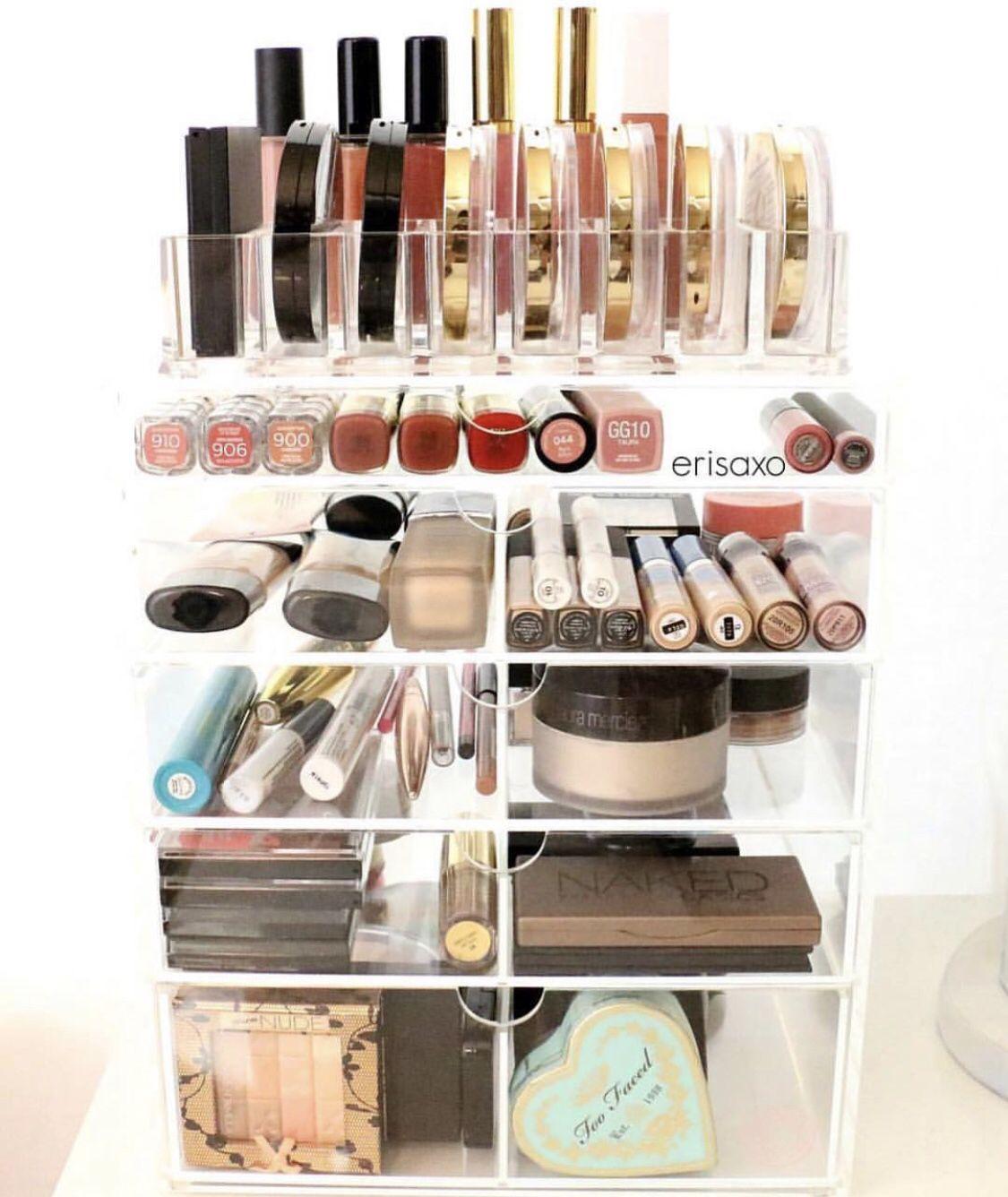 Deluxe beauty box Acrylic makeup storage, Acrylic makeup