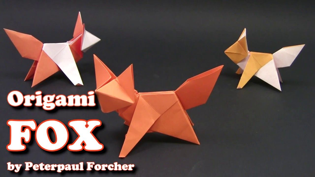 origami zorro facil