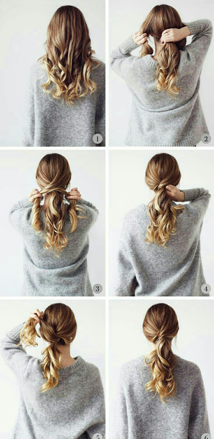 Peinados Sencillos Paso A Paso 1001 Peinados Hair Styles Hair Y