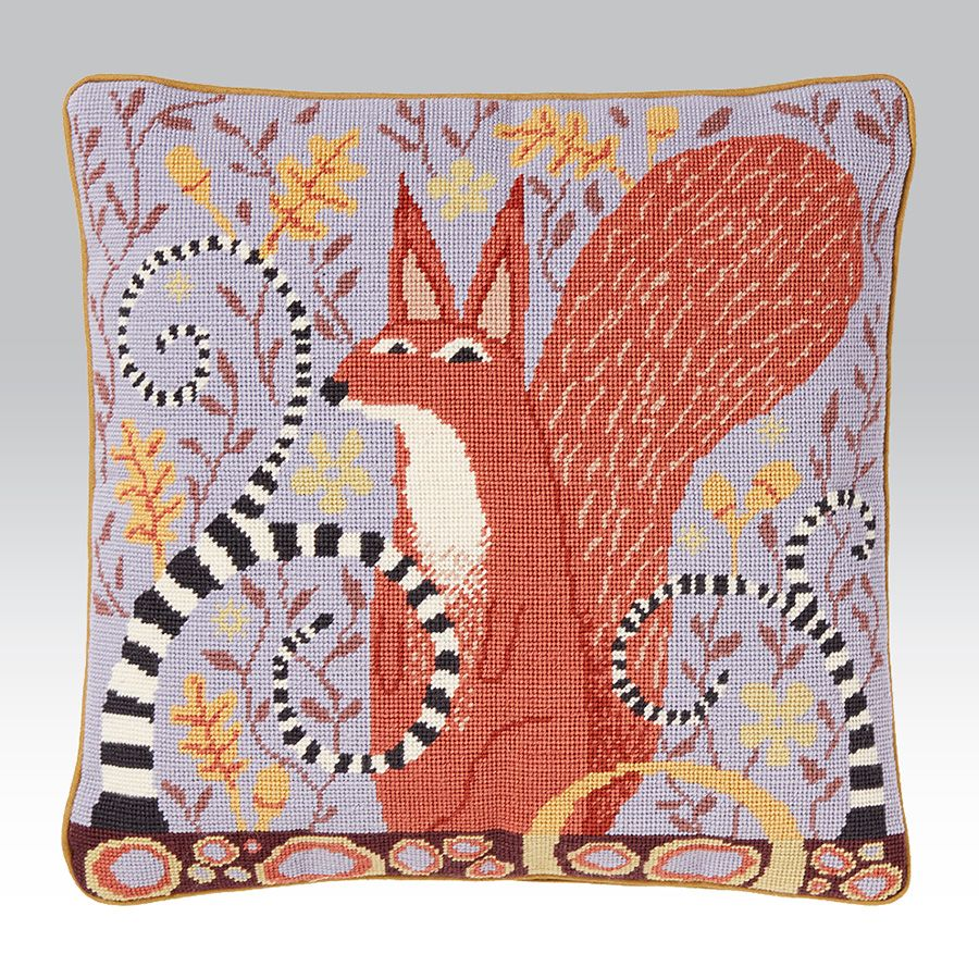 Red squirrel ehrman tapestry a quirky new design to our