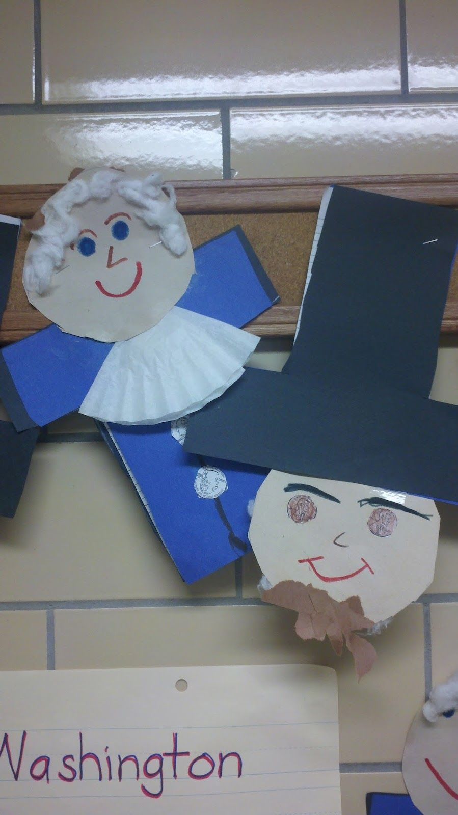 presidents day craft we also make george and abe using the same presidents day craft we also make george and abe using the same shape right side up is abe and upside down is george pinned by pediastaff