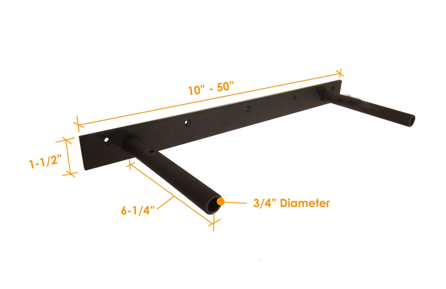 heavy duty hidden floating shelf bracket by