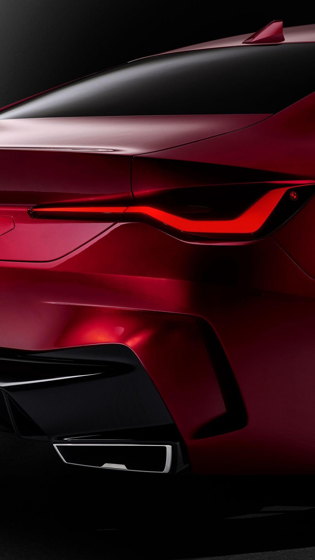 1080x1920 Tail Light Bmw Concept 4 Red Wallpaper Bmw Concept Bmw