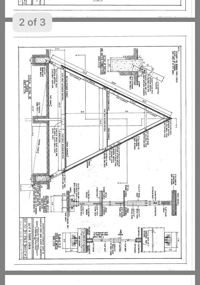 Pin By Sten W On Plans A Frame House Plans A Frame Cabin Plans A Frame House