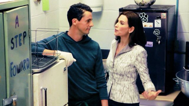 Alicia Florrick And Finn Polmar Having A Moment Good Wife Best Couple Movies And Tv Shows
