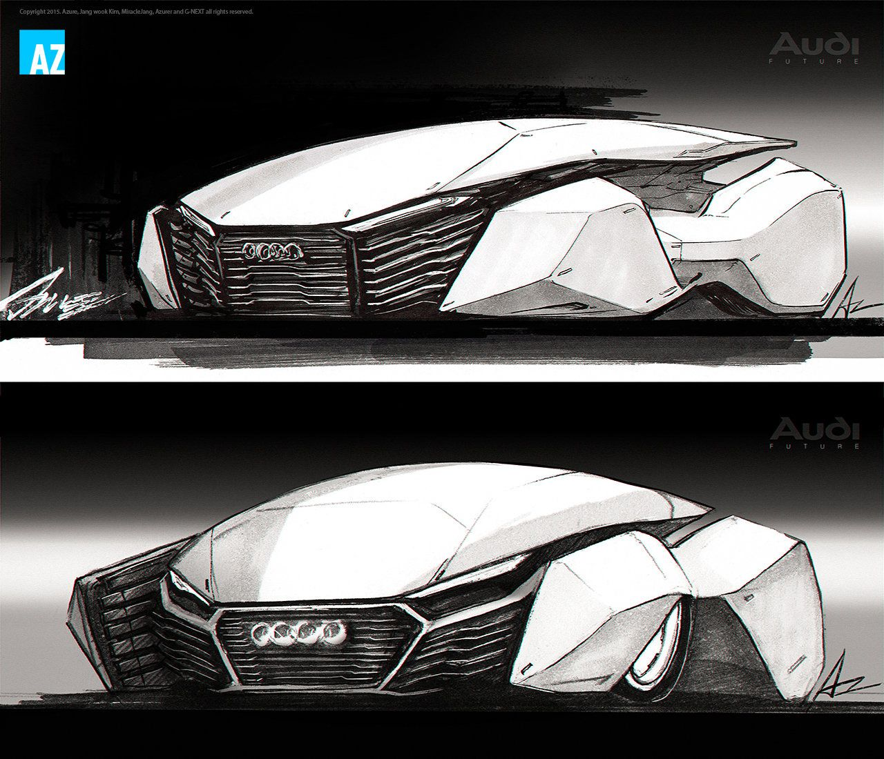 Future Cars: Future Audi R10, Jang Wook Kim On ArtStation At Https