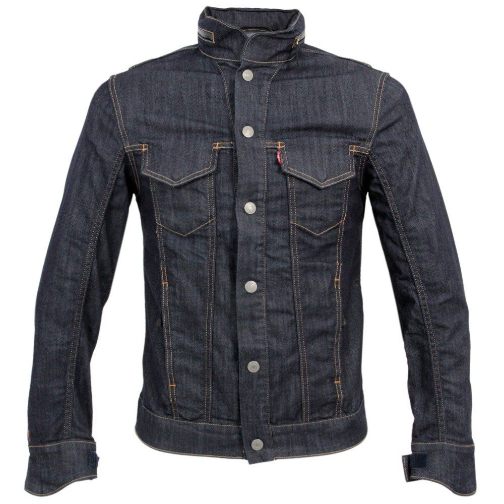 urbnite Levi's Commuter Trucker Jacket with Hood Denim