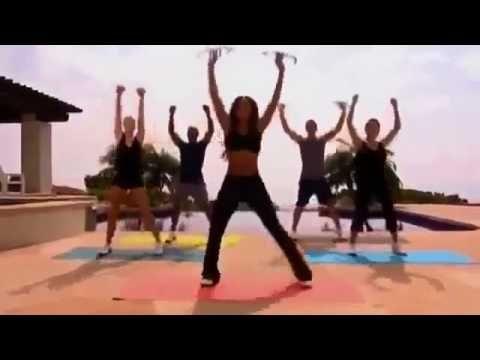 Mel B trening (55 min) ramiona nogi brzuch pośladki - YouTube