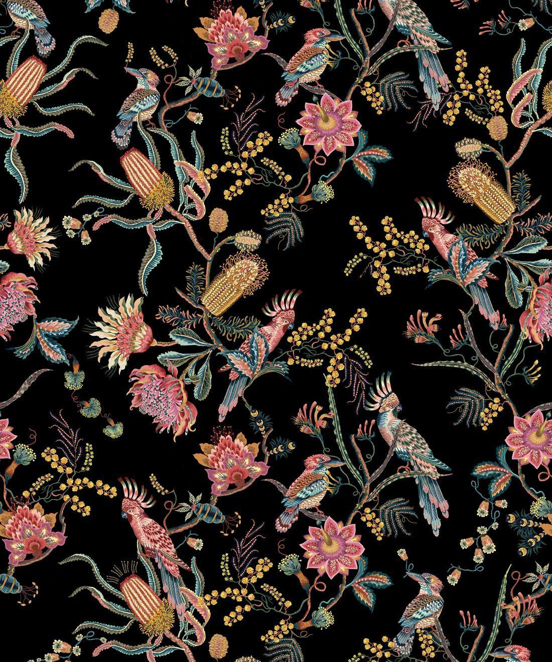 Matilda Wallpaper • Australian Flora & Fauna • Milton