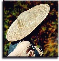 RENAISSANCE STRAW HAT - 18 DIAMETER BRIM Wide brim Straw hat  LAF-811  -   11.49 f425a61b27f