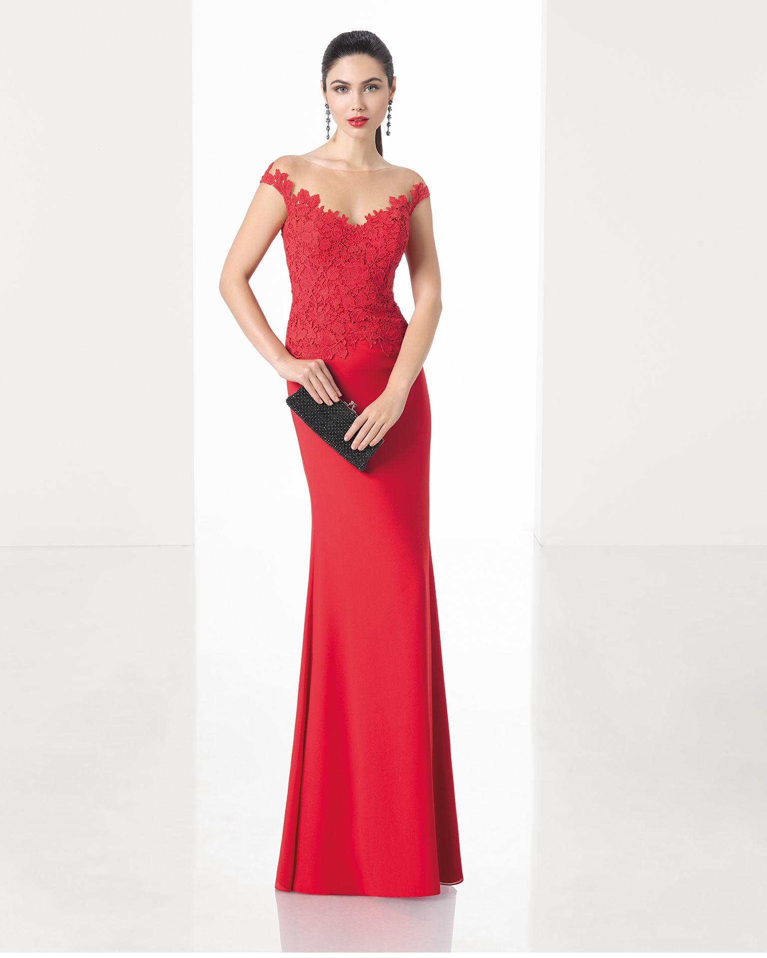Vestidos de madrina de boda rojos
