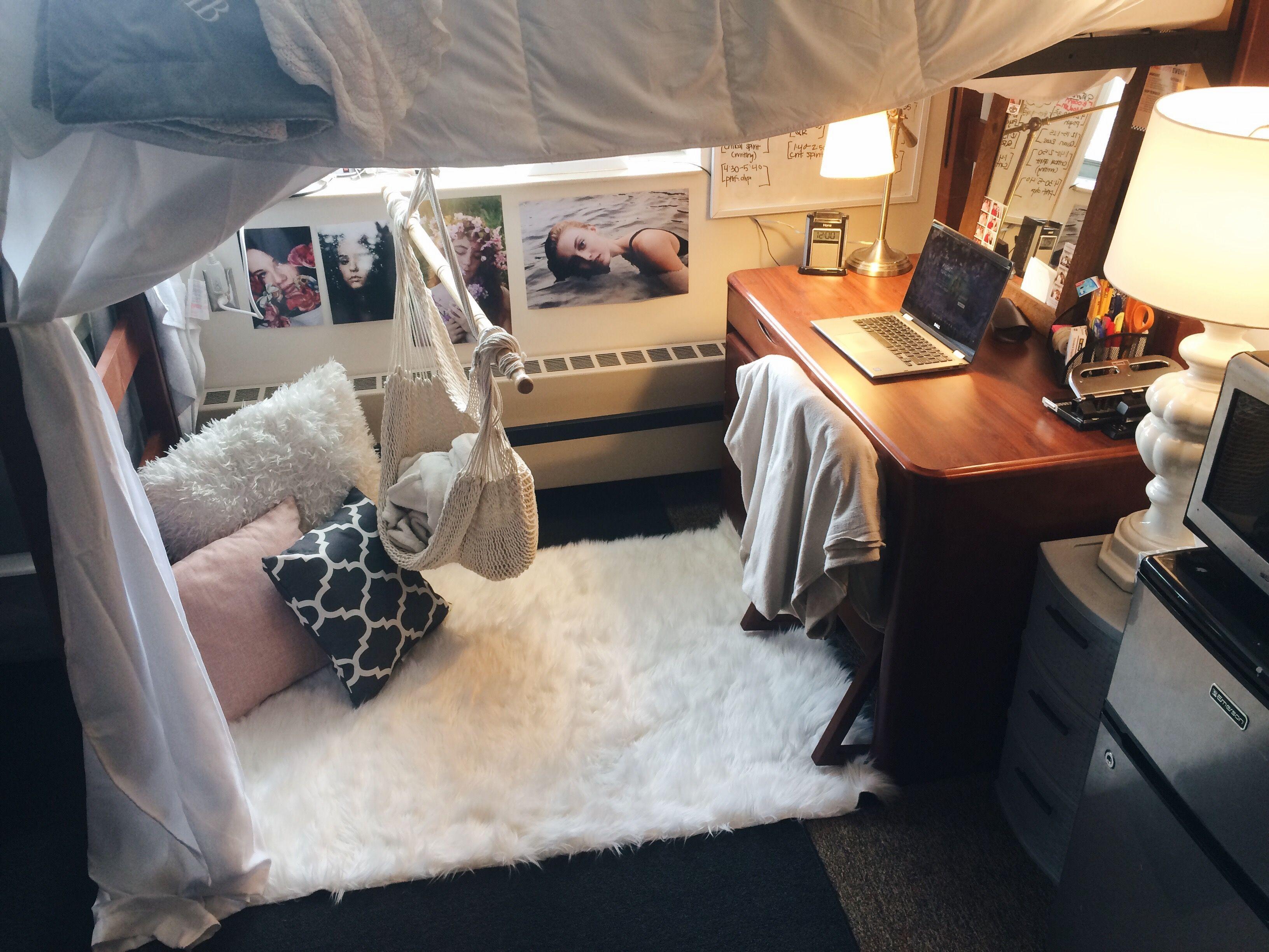 Dorm Room With Hammock Chair Dormroom Hammock College