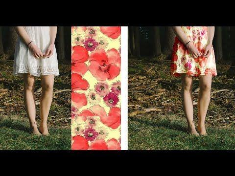 포토샵 강좌 - 옷에 패턴 합성 - YouTube