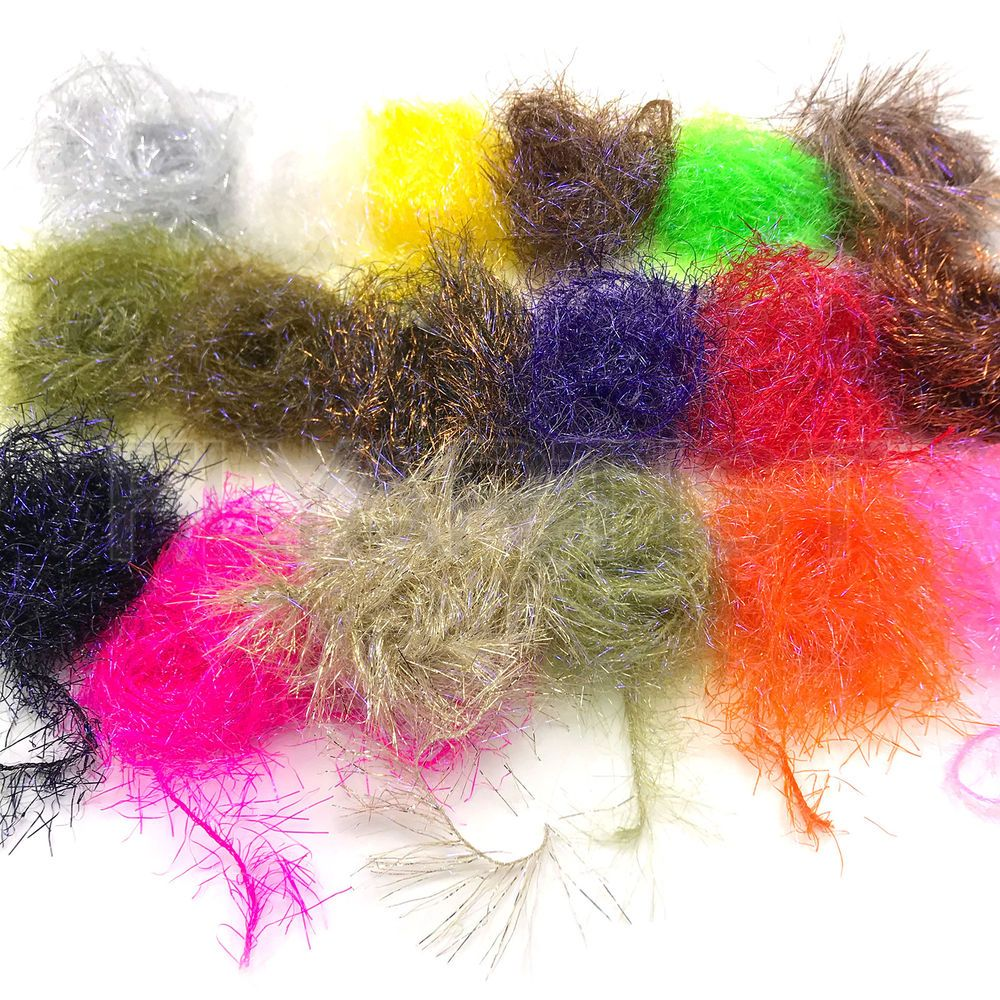 HARELINE FINE BLACK BARRED MARABOU Select Premium Feathers Fly Tying